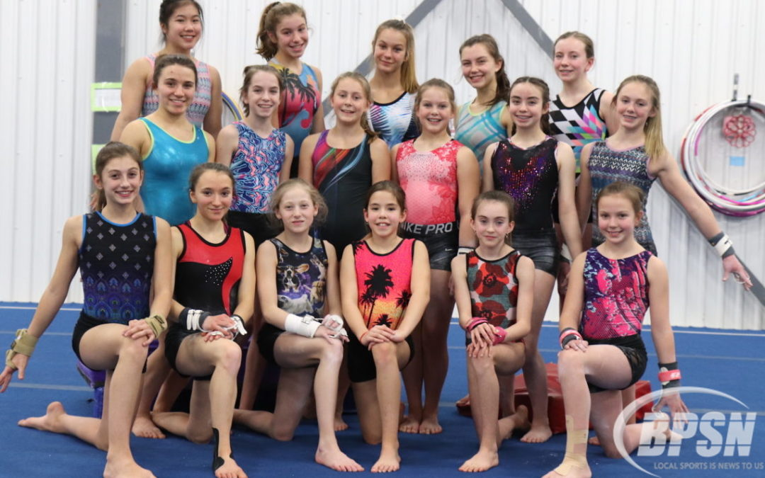 Gymnast inspires with her performance