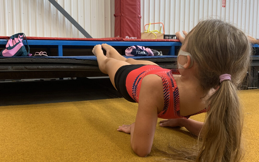 Why do Gymnasts condition SO much?!